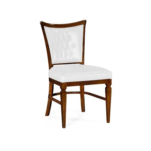 Calista Dining Side Chair, Upholstered in COM