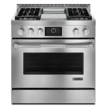 """HOT BUY CLEARANCE!!! Pro-Style® 36"""" Gas Range with Griddle and MultiMode® Convection, Out of Box Display Models"""