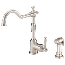 Chrome Opulence® Single Handle Kitchen Faucet