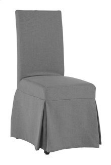 Slipcover Accent Chair - Gray Finish