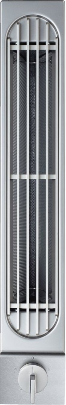 "Vario 200 Series Downdraft Ventilation Stainless Steel Control Panel Width 3 3/8"" (8.5 Cm)"