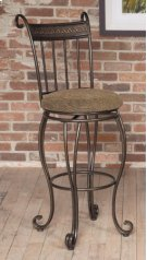 "D225-21  30"" Swivel Bar Stool Product Image"