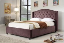 7548 Dark Purple Queen Bed