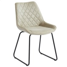 Calvin Side Chair in Taupe, 2pk