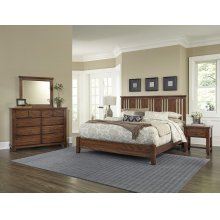 American Cherry Collection Landscape Mirror