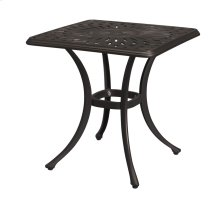 21''x21'' Square End Table