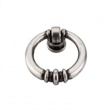 Newton Ring 1 1/2 Inch - Pewter Antique