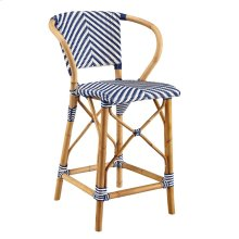 Blue Pearl Counter Stool