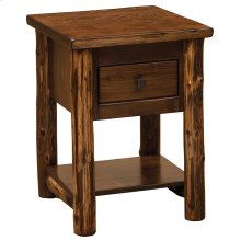 One Drawer Nightstand - Modern Cedar