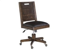 Swivel Chair with Upholstered Seat