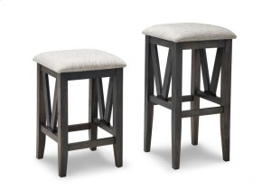 """Chattanooga 24"""" Counter Stool With Wood Seat"""