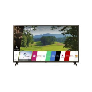 LG AppliancesUK6300PUE 4K HDR Smart LED UHD TV w/ AI ThinQ® - 50'' Class (49.5'' Diag)