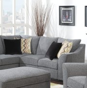 Calvina - Right Side Facing Corner Sofa W/4 Pillows Product Image