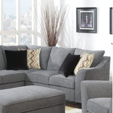 Calvina - Right Side Facing Corner Sofa W/4 Pillows