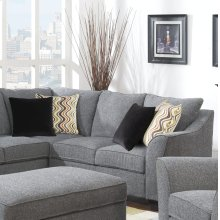 Calvina - Right Side Facing Corner Sofa W/4 Pillows