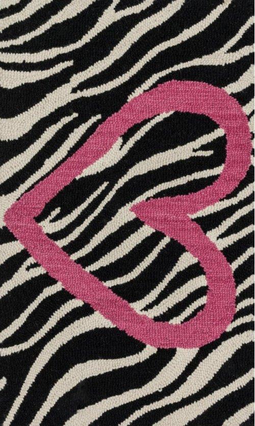 Ivory / Pink Rug