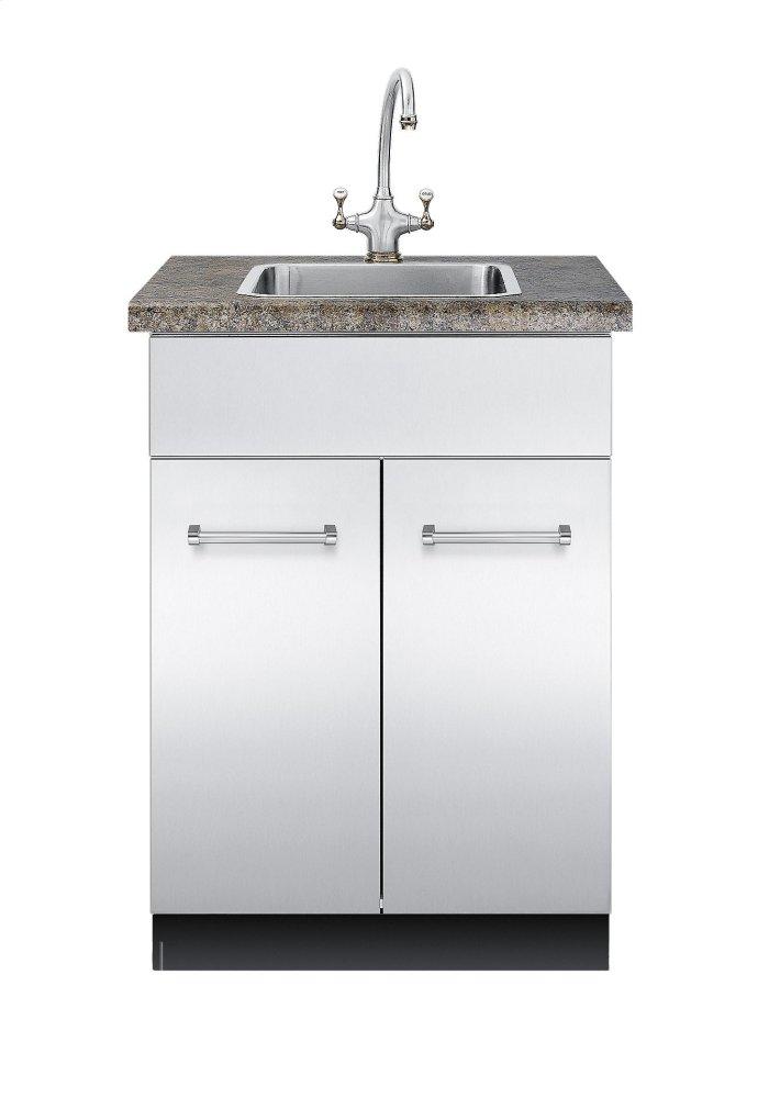 Vsbo2402ssviking 30 D Sink Base Cabinet Vsbo2402 Outdoor