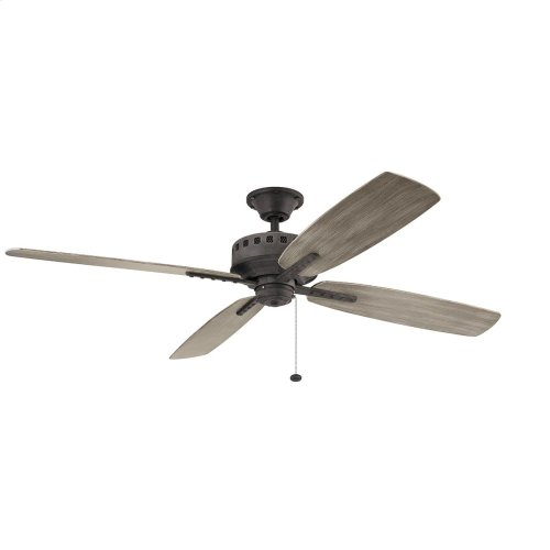 "Eads Patio XL 65"" Fan Weathered Zinc"