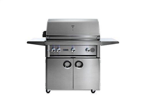 "36"" Lynx Professional Freestanding Smart Grill with Rotisserie, LP"