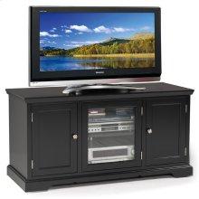 "Black Hardwood 50"" TV Console #83350"