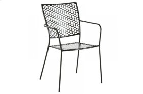 Martini Iron Stackable Bistro Chair - Anisette