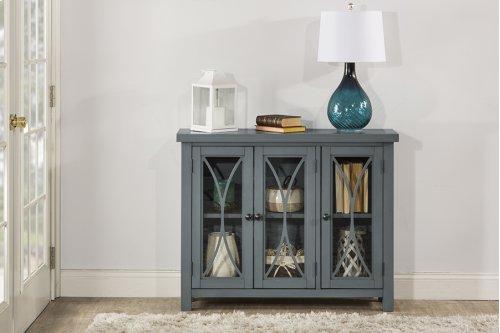 Bayside 3 Door Cabinet - Robin's Egg Blue