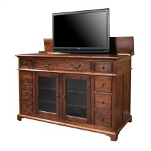 Plasma TV Console with Lift