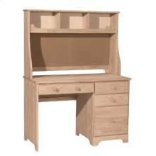 Desk Hutch with Corkboard