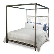 Luxor Laser Design Headboard Canopy Queen Bed