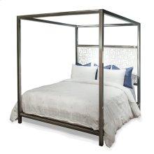 Luxor Laser Design Headboard Canopy Queen Bed