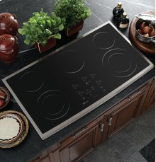 "GE Profile 36"" Built-In CleanDesign Cooktop- Out of Carton"