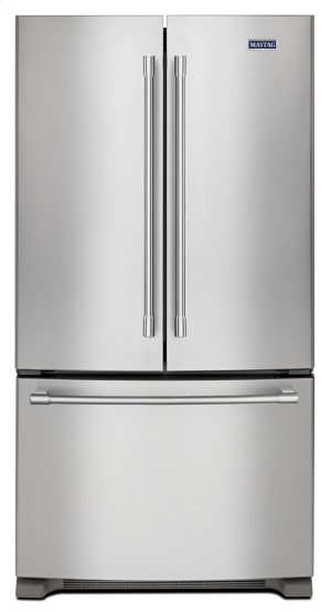 36- Inch Wide Counter Depth French Door Refrigerator - 20 Cu. Ft. Product Image