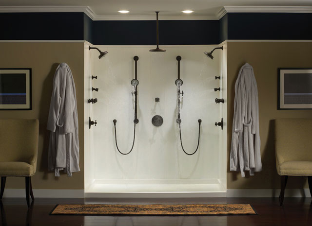 Additional Venetian-Bronze Multifunction Showerhead