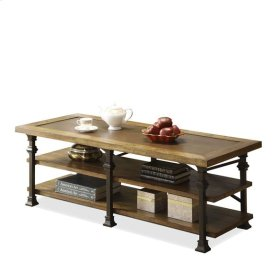Lennox Street Coffee Table Landmark Worn Oak finish