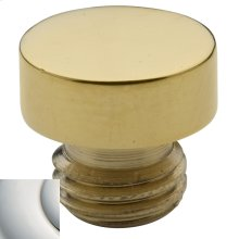 Polished Nickel with Lifetime Finish Button Finial