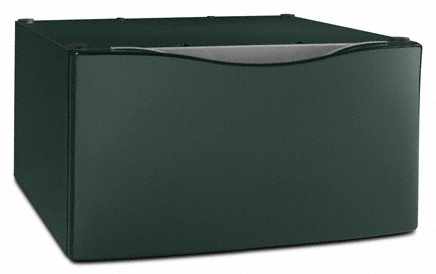"Evergreen 15.5"" Laundry Pedestal with Storage Drawer"