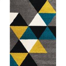 Maroq 5741 Grey Teal Yellow 6 x 8