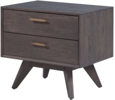 Loft Wooden Nightstand Product Image