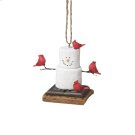 S'mores Cardinals Ornament. Product Image