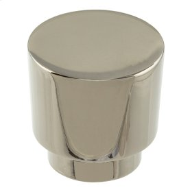 Tom Tom Knob 1 1/4 Inch - Polished Nickel