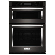 "30"" Combination Wall Oven with Even-Heat True Convection (Lower Oven) - Black Stainless Steel with PrintShield™ Finish"