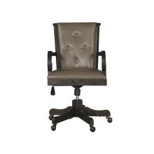 Fully Upholstered Swivel Chair