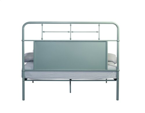 Emerald Home Fairfield Metal Bed Eucalyptus Green B202-10hbfbrgrn