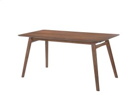 "Simplicity - Rectangular Dining Table 60x28x30"" Walnut"