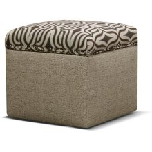 Parson Storage Ottoman with Nails 2F0081N