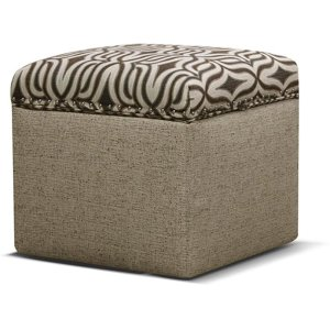 England Furniture Parson Storage Ottoman With Nails 2f0081n