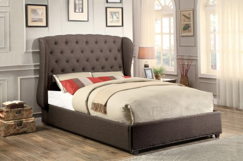 California King Wing Bed