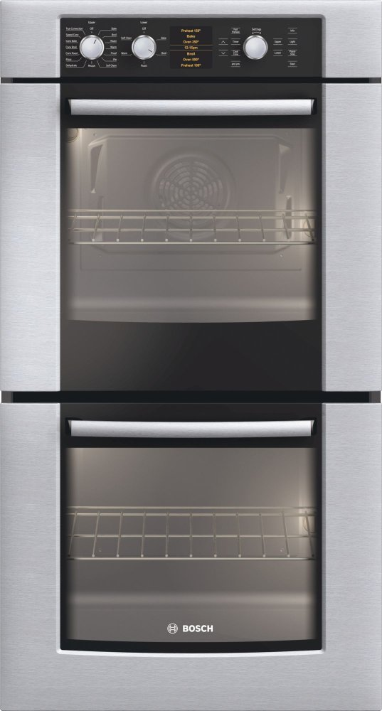 Bosch Bosch27 Double Wall Oven 500 Series Stainless Steel Hbn5650uc
