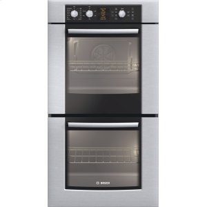 "Bosch27"" Double Wall Oven 500 Series - Stainless Steel HBN5650UC"