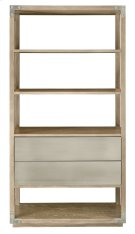 Spaulding Etagere in Rustic Sand Product Image